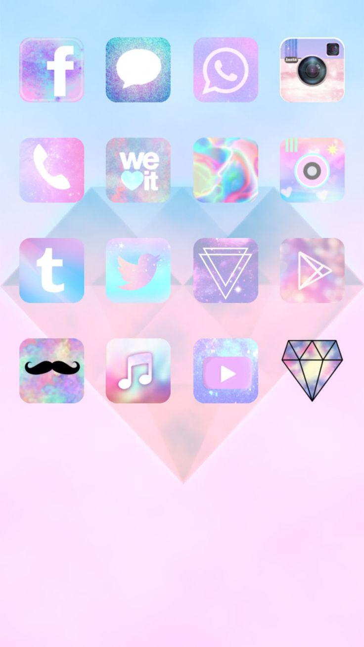 Cocoppa cute icon app icon pretty wallpaper iphone