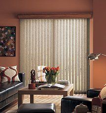 Bali Linen II Fabric Vertical Blinds By Bali. $88.00. Bali Verticals Add  Drama,