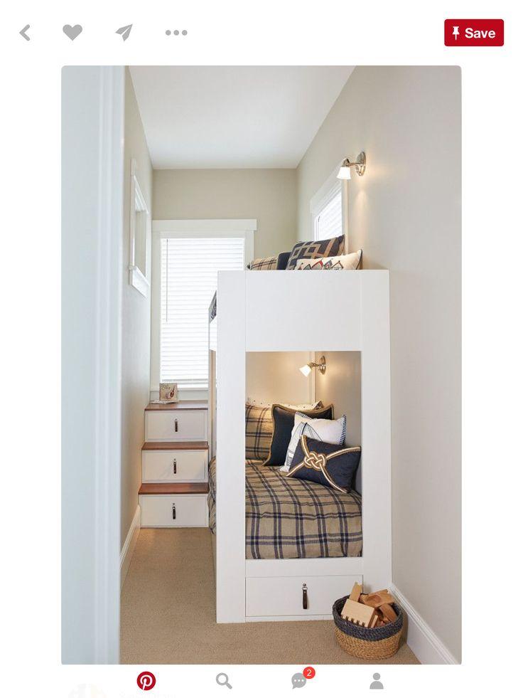 Pin de leslie brooks en cottage ideas pinterest - Habitacion pequena nina ...