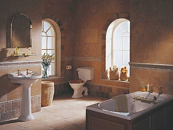 Badezimmer Ideen Mediterran Badezimmer Mediterran Toskanisches Badezimmer Toskana Design