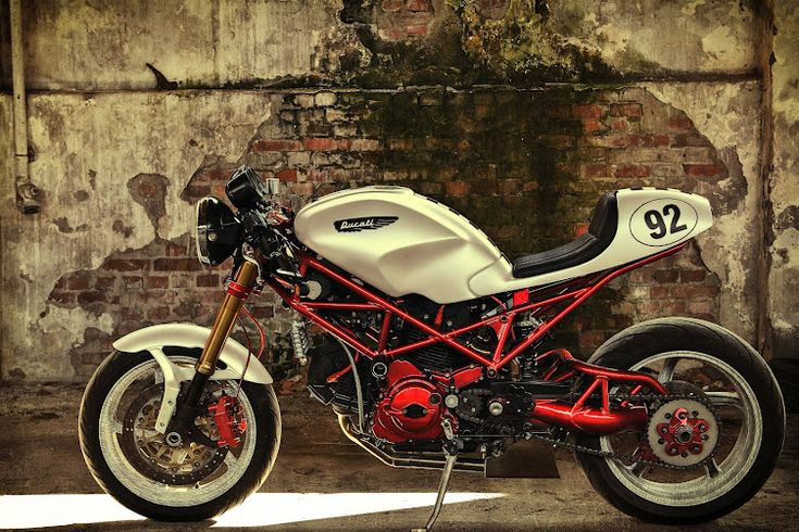 Cafe Racers. Does Ducati ever design a motorcycle that doesn't make you want to get one?