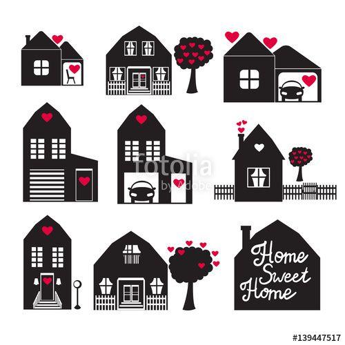 Вектор: Home Sweet Home.