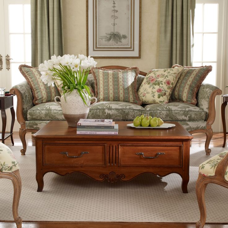 Traditional Coffee Tables Ethan Allen: Lasalle Coffee Table - Ethan Allen US