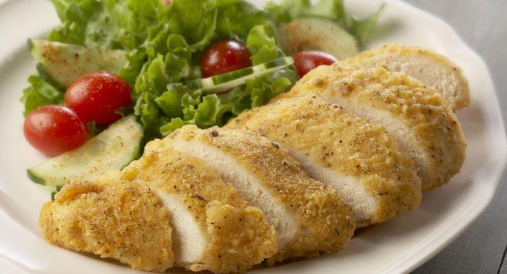 Boneless Oven Fried Chicken Recipe