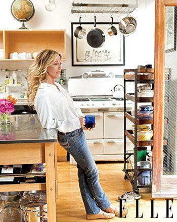 Sheryl Crow's New York City Loft With Elle Magazine