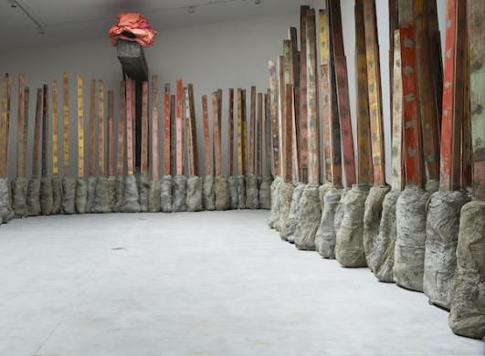 Phyllida Barlow's Sculptures Inaugurate Recently Renovated Hauser ...