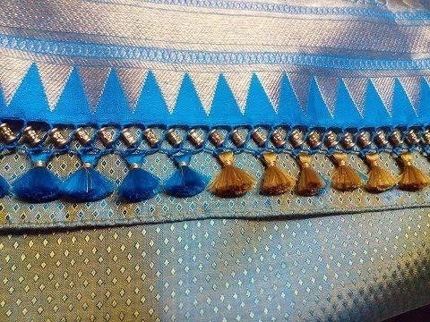 Latest Fashion Trend 2017 Tassels Or Kuchu For Sarees - YouTube