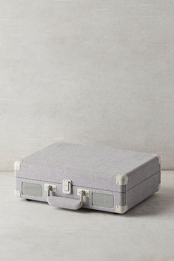 Crosley Slate Canvas Cruiser Bluetooth Vinyl Record Player Vinyl Record Player Bluetooth Record Player Record Player