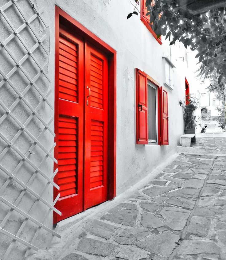 Red doors by Aris S_ on 500px