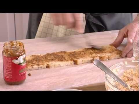 Meloni-kinkkuvoileipäkakku - K-ruoka