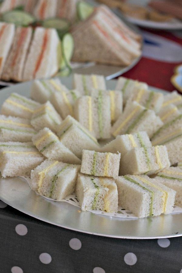 Coriander chutney and Egg mayo ribbon sandwiches