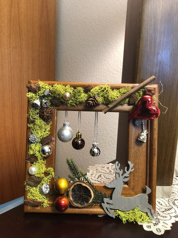 Window piece made from picture frame.
