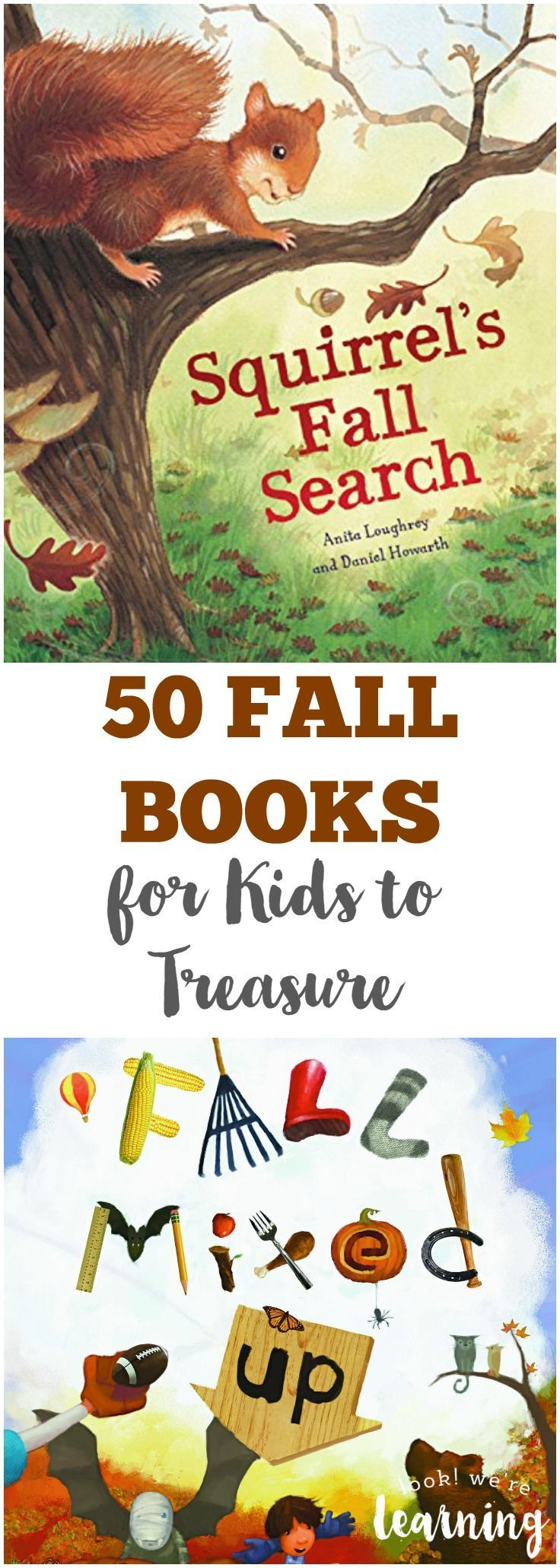 Get ready for autumn with these beautiful fall books for kids to treasure! Find a new family classic or two on this book list!