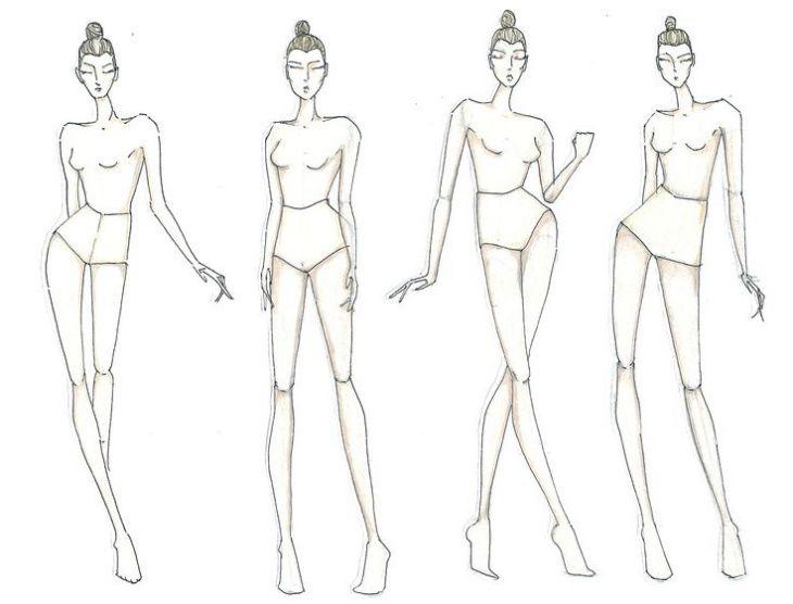 Как научиться рисовать моделей для дизайна одежды