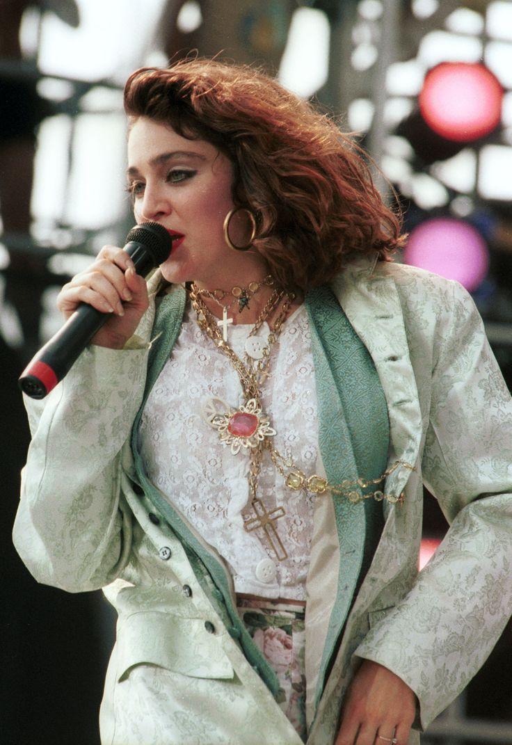 Madonna Live Aid 1985