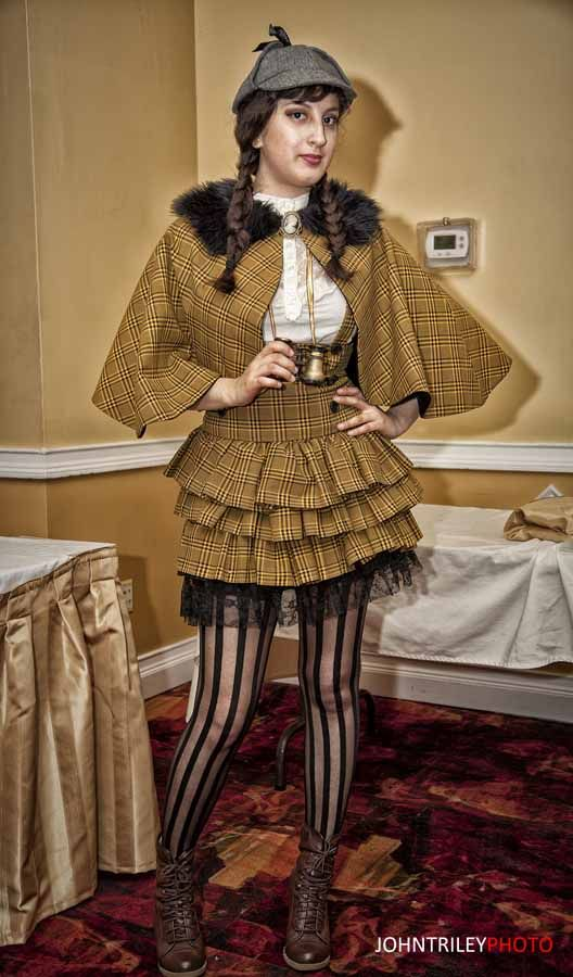Steampunk Cosplay | Mary Russell Cosplay at Steampunk World's Fair 2013 | Nerd Caliber