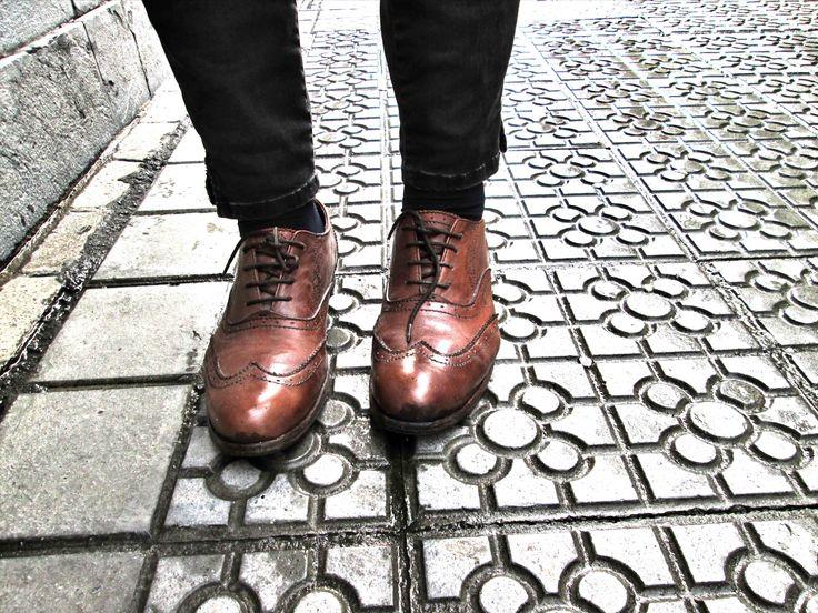 http://victoriasdelnue.com/zapatos-para-la-lluvia/ #shoes #hudsonshoes #hudson