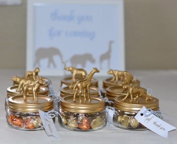 best  safari centerpieces ideas on   jungle party, Baby shower invitation