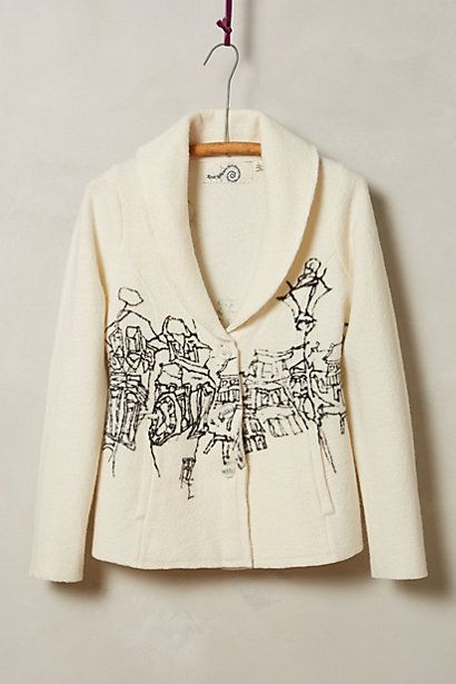 Cityscape Cardigan anthropologie