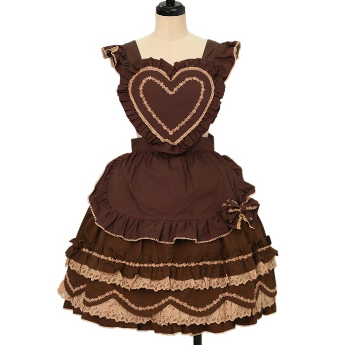 ♡ BABY THE STARS SHINE BRIGHT ♡ Heart apron skirt http://www.wunderwelt.jp/products/detail13204.html ☆ ·.. · ° ☆ How to order ☆ ·.. · ° ☆ http://www.wunderwelt.jp/user_data/shoppingguide-eng ☆ ·.. · ☆ Japanese Vintage Lolita clothing shop Wunderwelt ☆ ·.. · ☆