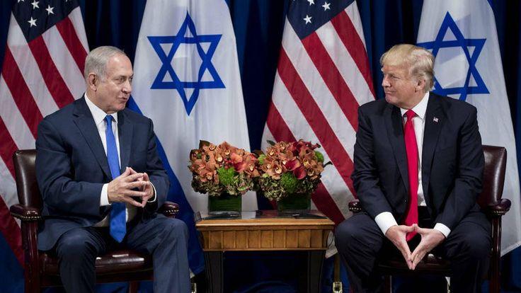 """Trump reconoce a Jerusalén como la capital de Israel y traslada embajada -  Jerusalén.-El primer ministro israelí, Benjamín Netanyahu, valoró hoy como """"justa y valiente"""" la decisión del presidente de Estados Unidos, Donald Trump, de reconocer Jerusalén como capital de Israel y su promesa de trasladar la embajada a la ciudad. """"La decisión del preside... - https://notiespartano.com/2017/12/06/trump-reconoce-a-jerusalen-como-la-capital-de-israel-y-tra"""