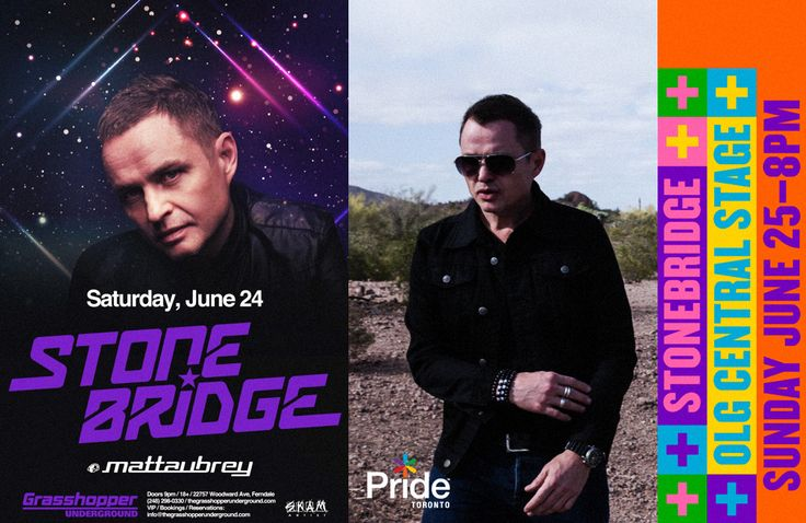 NEXT WEEK: Going in for a massive session at Grasshopper Underground in Detroit Saturday June 24. Proper house with my boy Matt Aubrey opening up. Get tickets: http://smarturl.it/StoneBridgeDetroit Then Toronto Pride Sunday June 25 and an extended 3 hour set of fire - get in! #stonebridge #skamartist #skamlife #tour #detroit #toronto #house