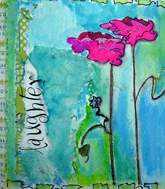 journalling | Art journal pages - Pinterest {great examples of art journal pages} | Pinterest | Art, Journal and Art journal pages