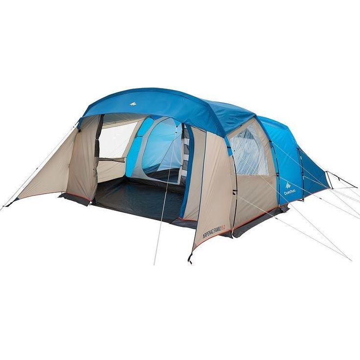 All Tents Camping - Arpenaz 5.2 Family Tent - 5 Man Quechua - Tents