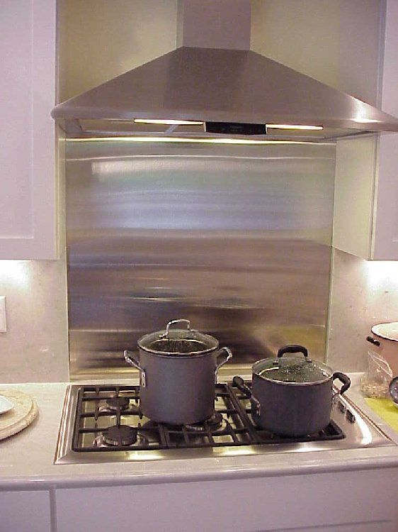 Stainless Behind Cooktop With Natural Stone Around It For The Home In 2018 Pinterest Backsplash Kitchen And Farmhouse Decor