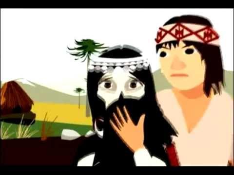 La niña de la calavera cuento Mapuche - YouTube