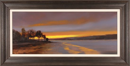 Michael John Ashcroft, MAFA, Original oil painting on panel, Sunset Strip