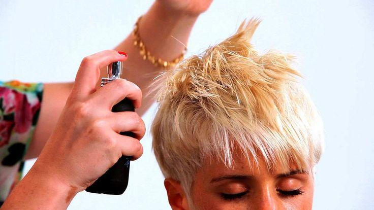how to cut short hair tutorial