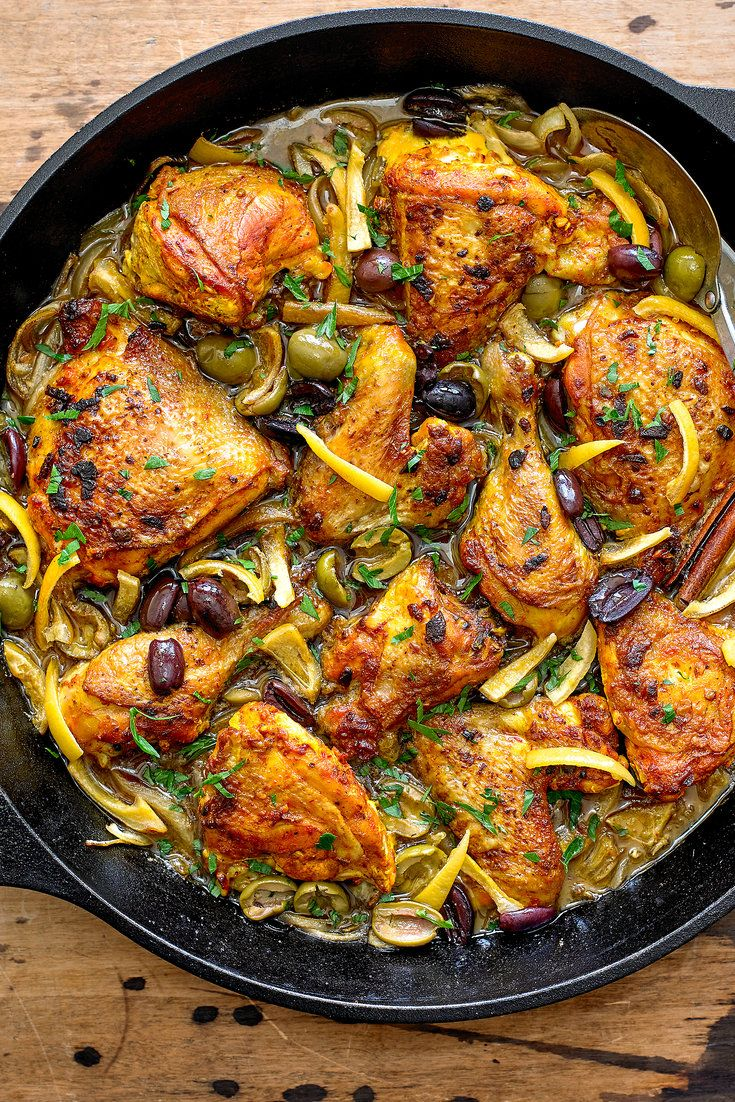 NYT Cooking: This rich and fragrant chicken stew is laden with complex flavors and spices reminiscent of the sort you might encounter in a mountainside cafe in Morocco. Save yourself the cost of a plane ticket, however, and make this at home. First, rub the chicken with a redolent combination of garlic, saffron, ground ginger, paprika, cumin, turmeric and black pepper, then pop it in...