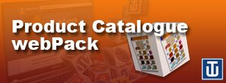 Advertise and display all your products online with our Product Catalogue webPack. Includes contact form and/or details of your store for your customers to reach you.