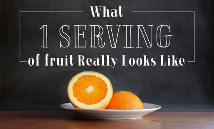 Though fruit is delicious and an essential part of a healthy balanced diet, it's important to also consider what a healthy amount to enjoy in one serving looks like.