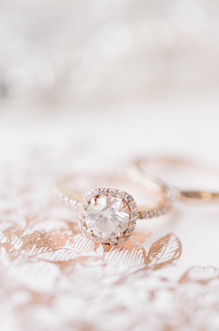 featured photographer: Jeff Sampson Photography; engagement ring idea;