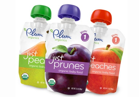 В новом дой-паке выпускает Plum Organics органическое детское питание