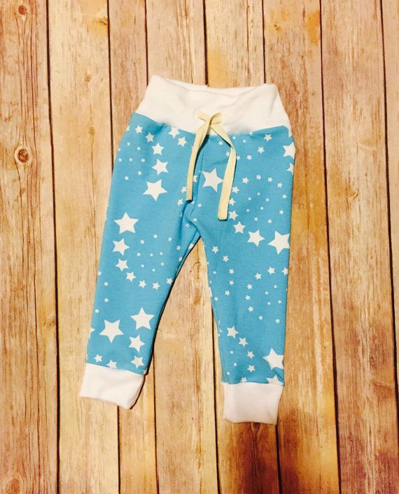 Baby jogger pants baby boy jogger pants baby girl by LittleBubbers