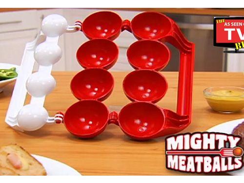 Εργαλείο Για Τέλεια Γεμιστά Κεφτεδάκια Mighty Meatball