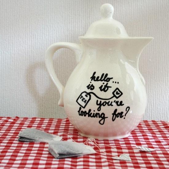 DIY  Teapot