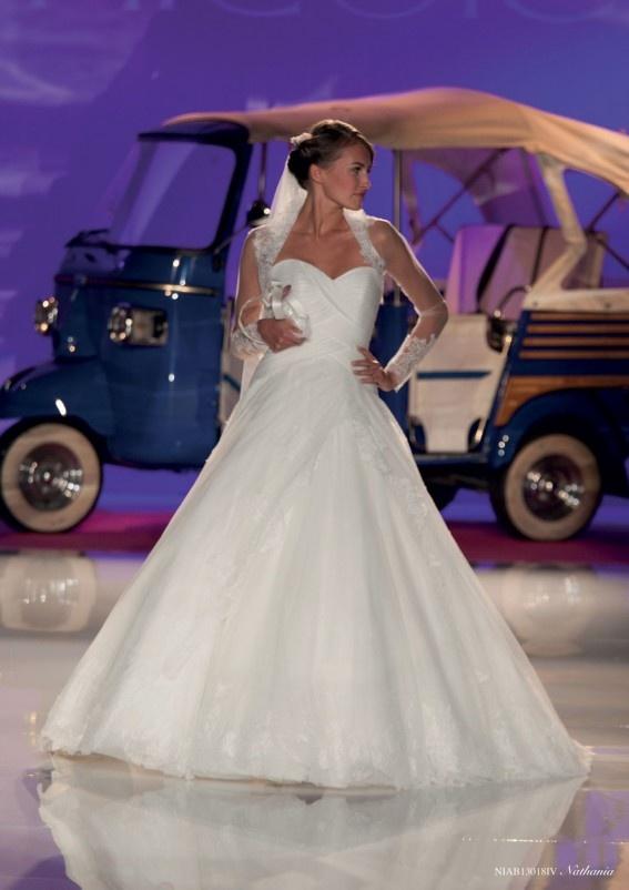 Collezione abiti da sposa #Nicole, abito da #sposa modello Nathania