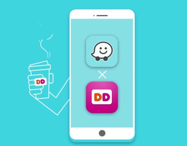Today, Dunkin' Donuts has become the first brand to partner with Waze to launch the navigation app's latest feature, Order Ahead, allowing DD Perks® Rewards Members the opportunity to order their favorite coffee, donut or breakfast sandwich from the Waze App before even hitting the road.