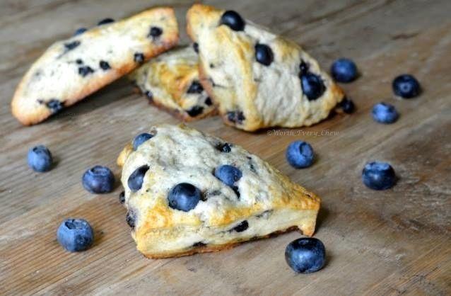 3. Blueberry Scones