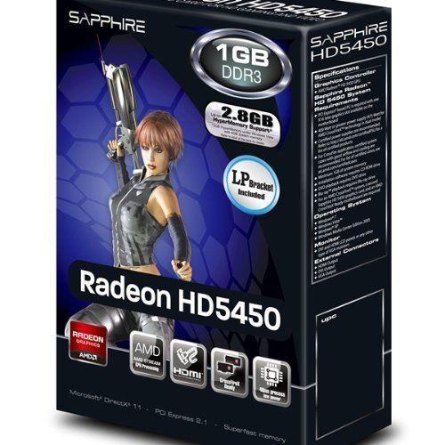 Carte graphique Sapphire Radeon HD5450 PCI-E 1 Go pci express x16 HDMI -  NEUF