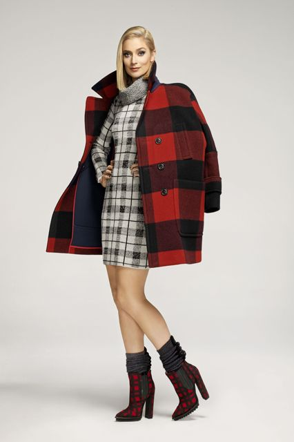 """All Laverne Cox Wants For Fall Is A Beyoncé Wig #refinery29  http://www.refinery29.com/2014/08/72506/laverne-cox-o-magazine-editorial#slide3  Caitlin Fitzgerald, Masters of Sex """"I'm from Maine, and this lumberjack-chic look reminds me of home."""""""