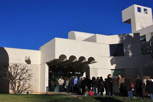 スペイン バルセロナ モンジュイックの丘にある大人気ミロ美術館