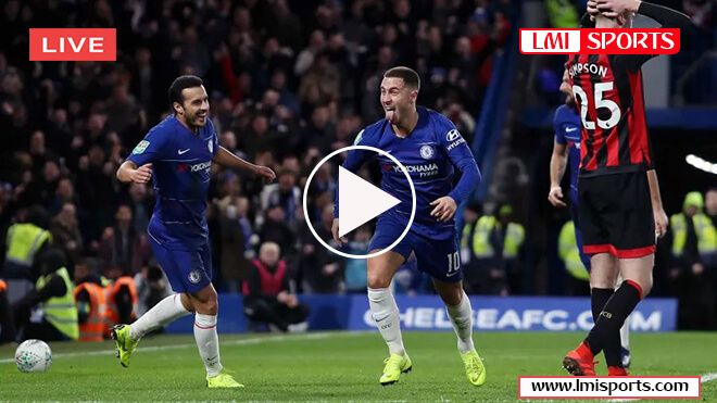 Bournemouth Vs Chelsea Epl Football English Premier League Sporting Live