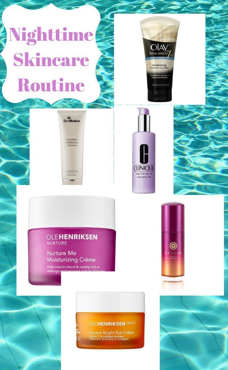 Beauty Routine Skincare Daily Nighttime Routine Skincare In 2020 Nighttime Skincare Daily Skin Care Routine Skin Care