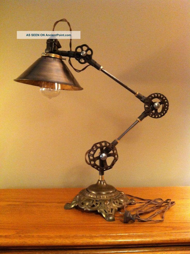 Steam Punk Lamps Desk Lamp Machine Age Task Light