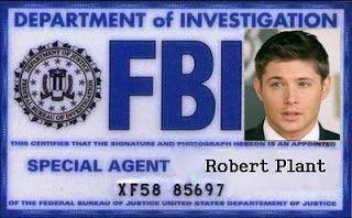 Supernatural Badge traffic-club Fbi -
